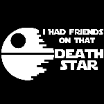 I Had Friends on that Deathstar Funny Bumper Sticker Stormtroopers