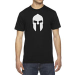 Men's 300 Spartan Helmet of King Leonidas T-Shirt