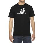 Men's Girl Reading Smart T-Shirt