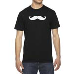 Men's Mustache Bumper T-Shirt