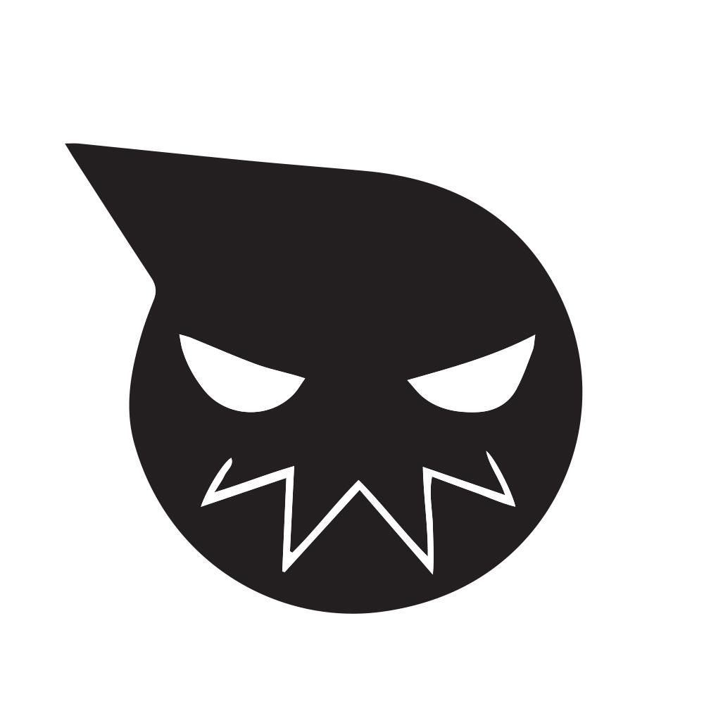 Soul Eater Black Decal Anime