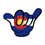 Colorado Hang Loose Sticker