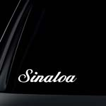 Sinaloa Car Decal / Sticker