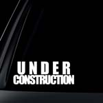 Under Construction Car Decal / Sticker