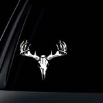 Deer Skull Car Decal / Sticker