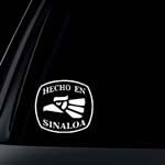 Hecho En Sinaloa Car Decal / Sticker