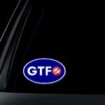ANTI-Obama: GTFO - Get The Fuck Out Car Decal / Bumper Sticker
