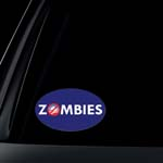 ANTI-Obama: ZOMBIES Car Decal / Bumper Sticker