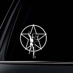 Rush Star Man Car Decal / Sticker