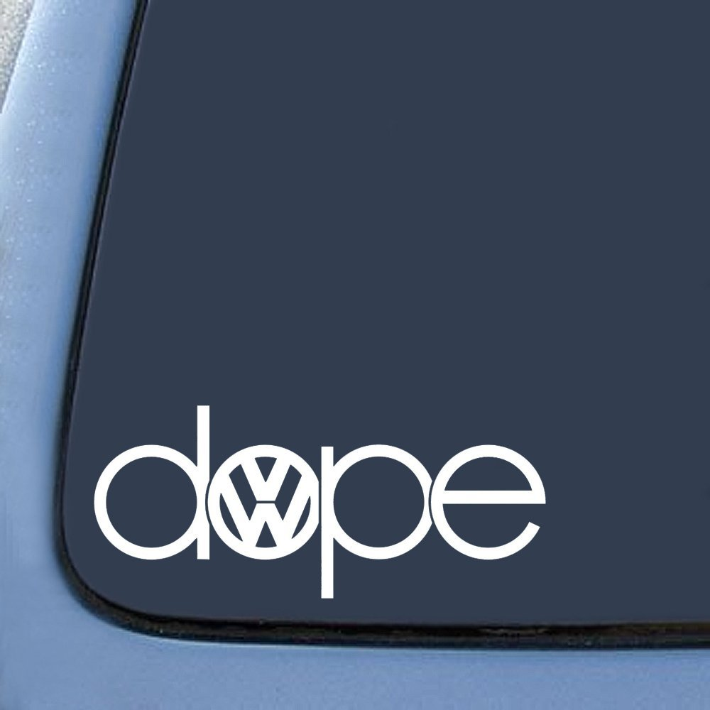 Dope Inspired Vw Sticker Decal Notebook Car Laptop