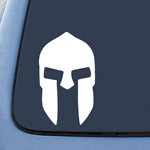 300 Spartan Helmet of King Leonidas Sticker Decal Notebook Car Laptop