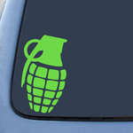 Dripping Grenade Snowboard Sticker Decal Notebook Car Laptop