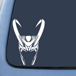 Loki Helmet Sticker Decal Notebook Car Laptop