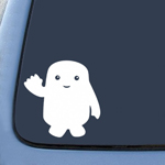 Adipose Inspired DW Whovian Sticker Decal Notebook Car Laptop