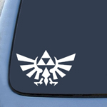Triforce Wings Zelda Sticker Decal Notebook Car Laptop