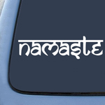 Namaste - Tibet Buddha - Sticker Decal Notebook Car Laptop