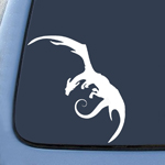 LOTR Smaug Dragon Sticker Decal Notebook Car Laptop