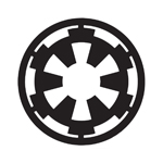 Galactic Empire Sticker Decal Notebook Car Laptop