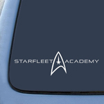 Starfleet Academy Alumni Federation Sticker Decal Notebook Car Laptop