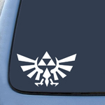 Triforce Logo Wings Symbol Sticker Decal Notebook Car Laptop