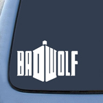 Badwolf DW Whovian Sticker Decal Notebook Car Laptop