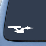 Enterprise Trek Starfleet Ship Sticker Decal Notebook Car Laptop