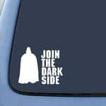 Join the Darkside Darth Vader Sticker Decal Notebook Car Laptop