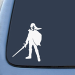 Link Shield and Sword Sticker Decal Notebook Car Laptop