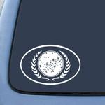 Trek United Federation of Planets Sticker Decal Notebook Car Laptop