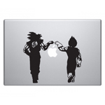 Dragon Vegeta & Goku Fist Bump DBZ Sticker Decal Notebook Car Laptop
