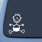 My Family Baby Child Kid Sticker Decal Notebook Car Laptop