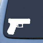Gun Pistol Rifle 2nd Amendment Sticker Decal Notebook Car Laptop