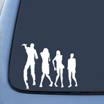 Zombie Horse Family Sticker Decal Notebook Car Laptop
