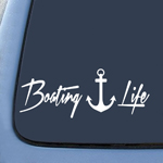 Boat Anchor Bounty Life Sticker Decal Notebook Car Laptop