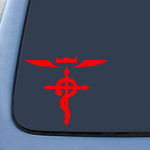 Full Metal Anime Sticker Decal Notebook Car Laptop