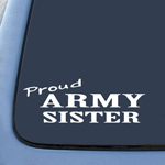 US Army SISTER Sticker Decal Notebook Car Laptop