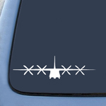C130 C-130 Military Airplane Sticker Decal Notebook Car Laptop