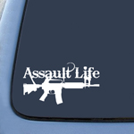 Assault Life Sticker Decal Notebook Car Laptop