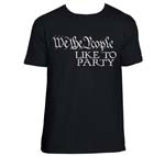 We The People-Party Shirt