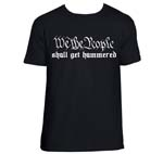 We The People-Hammered Shirt