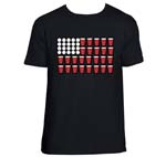 Beer Pong Flag Shirt