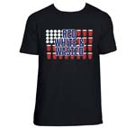 Red White And Wasted Beer Pong Shirt
