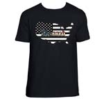 Blessed American Flag Shirt