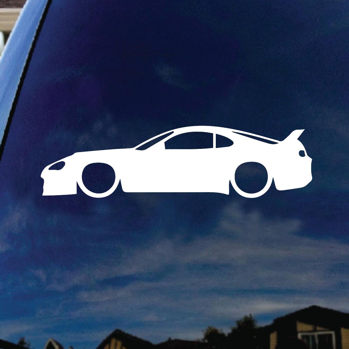 JDM Car Silhouette Car Window Vinyl Decal Sticker 5\