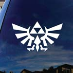 Zelda Inspired Wings Silhouette Car Truck Laptop Sticker Decal 5