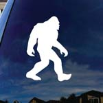 Bigfoot Sasquatch Car Window Vinyl Decal Sticker