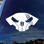 Star Craft Raynor's Helmet Skull Car Window Vinyl Decal Sticker