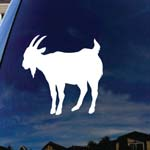 Goat Car Window Vinyl Decal Sticker