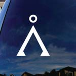 Star Gate Symbol Earth Car Window Vinyl Decal Sticker