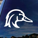 Wood Duck Car Window Vinyl Decal Sticker